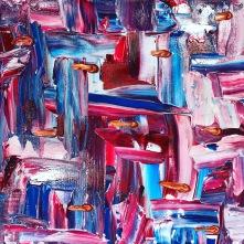 Colgate, 30x30 cm, kanvas, akryl, 600: -