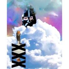 Mellan himmel och Jord , gicleetryck