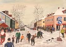 Julmarknad på Ålstensgatan