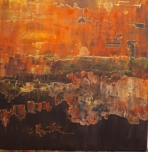 Acrylic on canvas 50x50