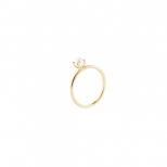 Petite Pearl Ring Guld