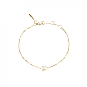 Petite Pearl Armband Guld