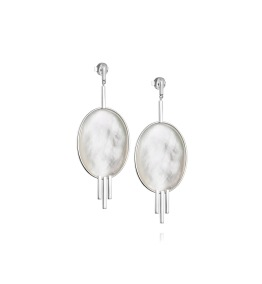 Mother Of Pearl Earrings - Mother Of Pearl Earrings