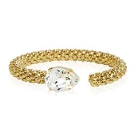 Classic Rope Bracelet / Crystal - Classic Rope Bracelet Gold / Crystal
