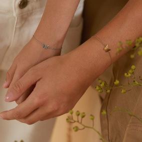 Papillon Bracelet Gold -