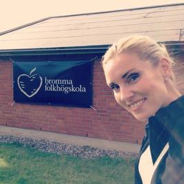 At Bromma Folkhögskola!