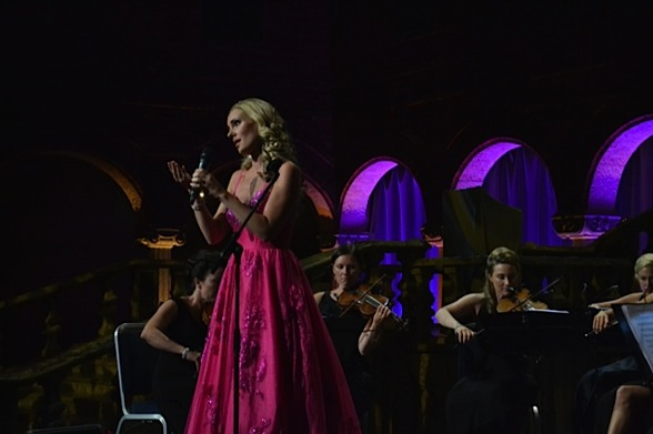 Hannah Holgersson and Stråkkapellet String Ensemble, Stockholm City Hall.