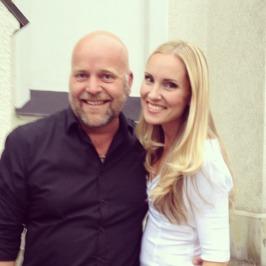 Tomas Bergström and Hannah Holgersson at Sunne kyrka!