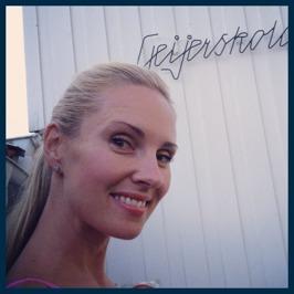 Hannah Holgersson at Geijerskolan
