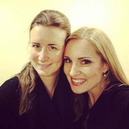Maria Sanner and Hannah Holgersson