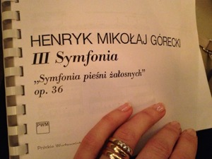 Symphony of Sorrowful Songs by Górecki