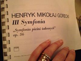 Symphony of Sorrowful Songs by Górecki