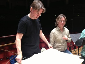 Esa-Pekka Salonen and Anders Hillborg