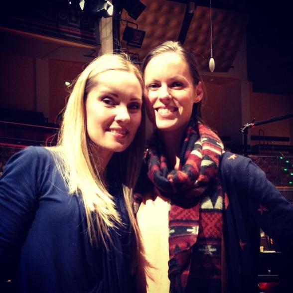 Hannah Holgersson and Ida Falk Winland