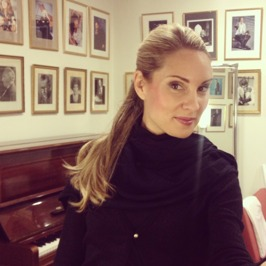 "Back at ""my"" dressing room at the Stockholm Concert Hall!"