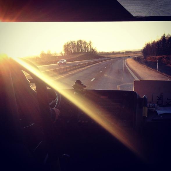 On tour in beautiful Dalarna!