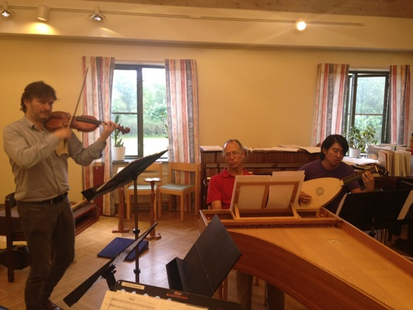 When rehearsing with amazing Aureliusz Golinski, Peter Lönnerberg and Dohyo Sol!
