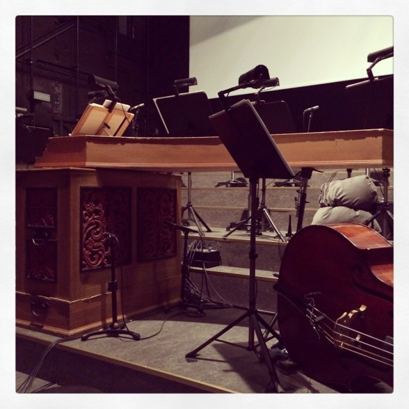 The stage is ready for St Matthew Passion!