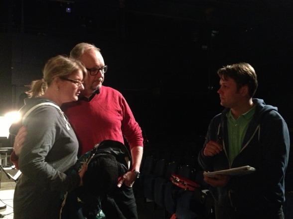 Maria Lindal, Lars Arvidson and Alexander Niclasson!