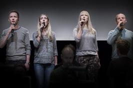 Anders Edenroth, Hannah Holgersson, Janna Vettergren and Morten Vinther.