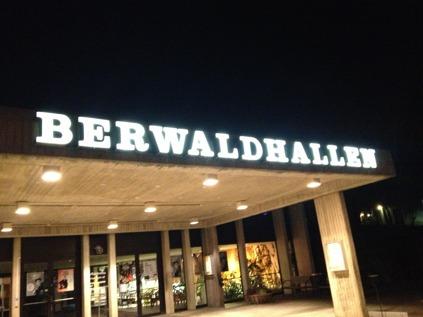 Tour ending in Berwaldhallen, Stockholm