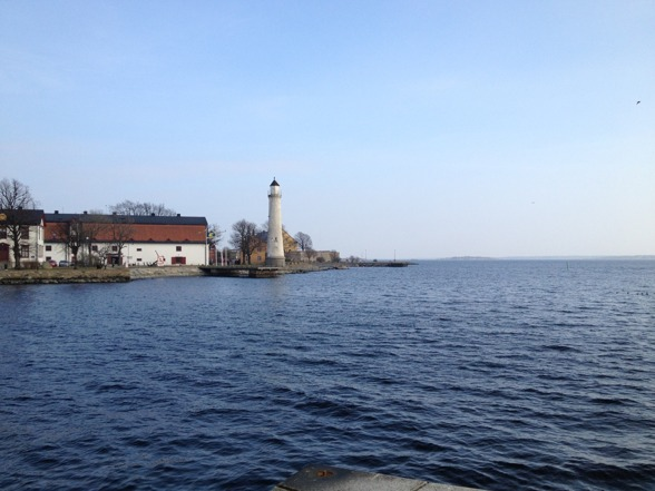 Beautiful waterside of Karlskrona!
