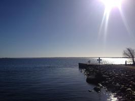 Beautiful waterside of Karlskrona!