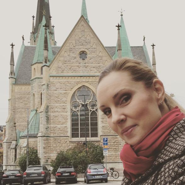 Hannah Holgersson, Oscarskyrkan Stockholm