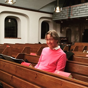 Kjell Perder attending the rehearsal of his music.