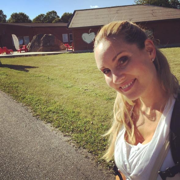 Hannah Holgersson at Bromma Folkhögskola