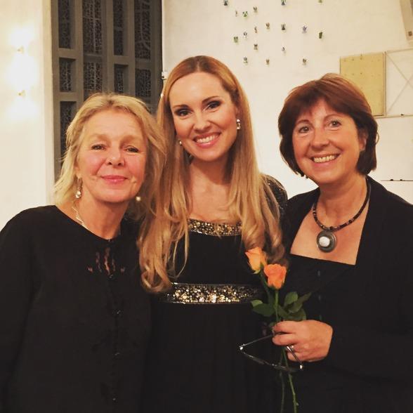 Elise Einarsdotter, Hannah Holgersson and Sue Tennander at Uppenbarelsekyrkan, Hägersten