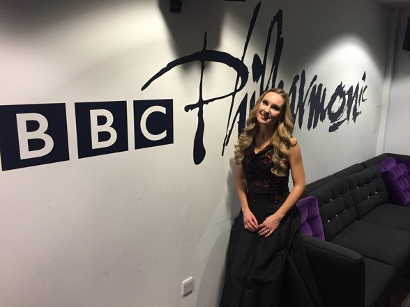 Hannah Holgersson at the BBC Studios, Salford
