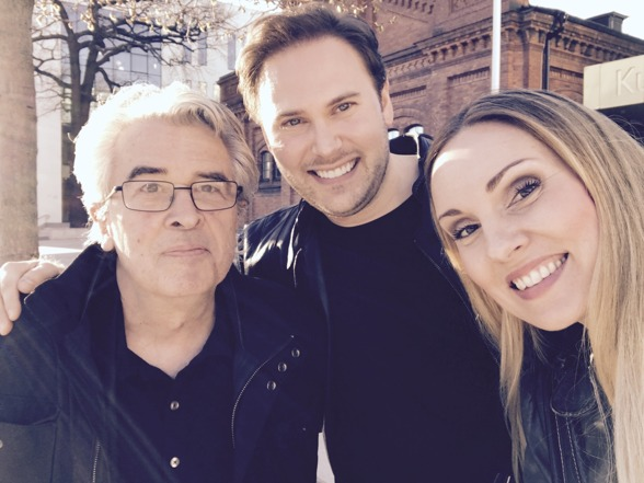 Staffan Scheja, Christian Svarfvar and Hannah Holgersson at the Royal Stockholm Academy of Music