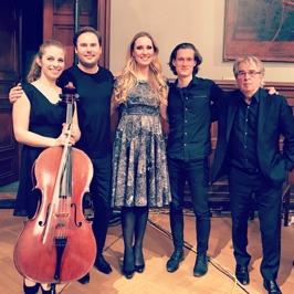 Hanna Dahlkvist, Christian Svarfvar, Hannah Holgersson, Magnus Holmander and Staffan Scheja at Konstakademien.