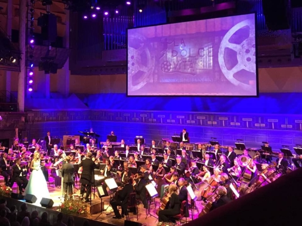 Gala evening with the Royal Stockholm Philharmonic Orchestra. Photo: Birgitta Axelius