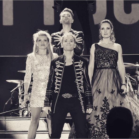 Jenna Lee-James, Peter Johansson, Ola Salo and Hannah Holgersson at Himmelstalundshallen Photo: photosbyhuman