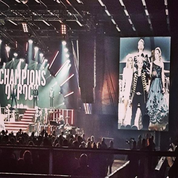 Champions of Rock at Himmelstalundshallen, Norrköping