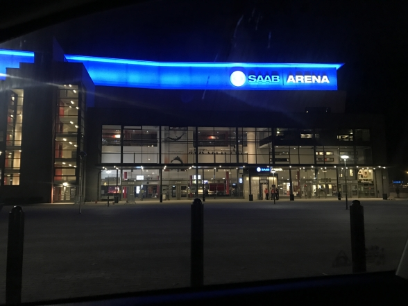 Champions of Rock at Saab Arena, Linköping.