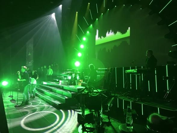 Soundcheck at Malmö Arena