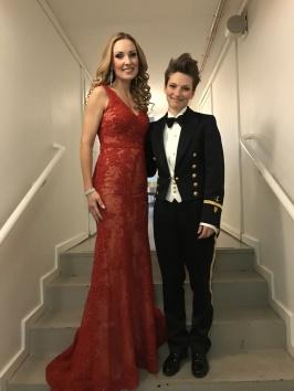 Hannah Holgersson with Linda johansson, clarinet