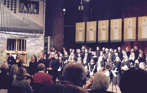 The final applause, Immanuelskyrkan, Stockholm.