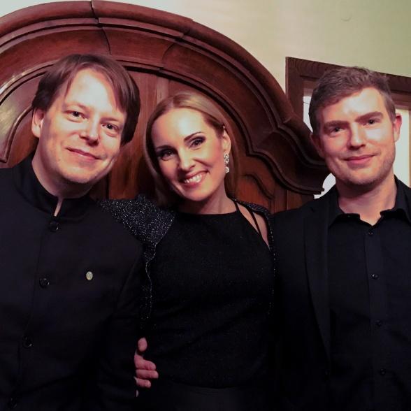 Tobias Ringborg, Hannah Holgersson and Espen Myklebust Olsen.