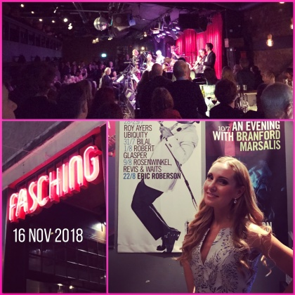 Hannah Holgersson with Radiojazzgruppen at Fasching Jazz Club