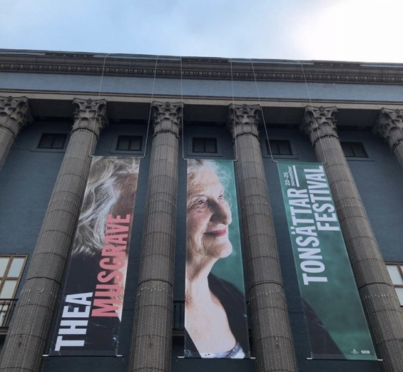 Thea Musgrave at the Stockholm Concert Hall