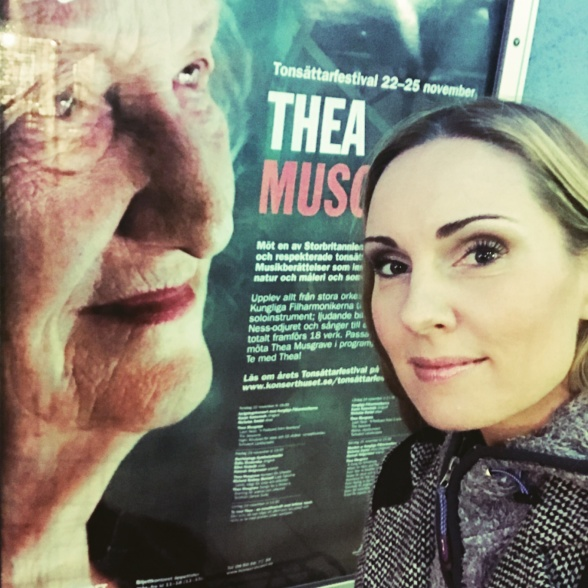 Hannah Holgersson at the Stockholm Concert Hall and the Thea Musgrave Festival