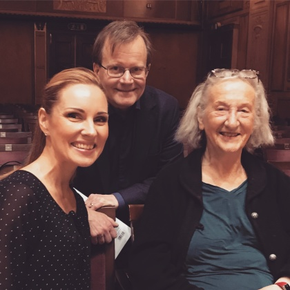 Hannah Holgersson, Stefan Lindgren and Thea Musgrave