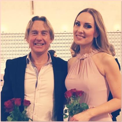 Kjell Perder and Hannah Holgersson