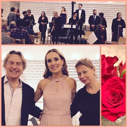 Hannah Holgersson, Kjell Perder, Maria Löfberg, Ensemble Musica di Costiera, Tove Dahlberg & Ola Heinpalu in Årsta kyrka.