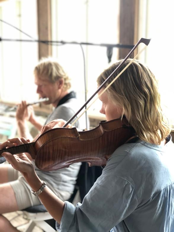 Pelle Grebacken and Karolina Weber Ekdahl.