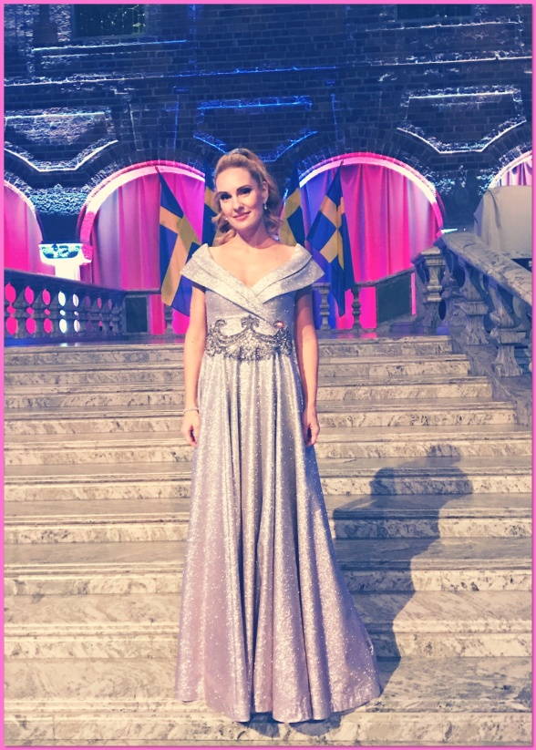 Hannah Holgersson at the Stockholm City Hall